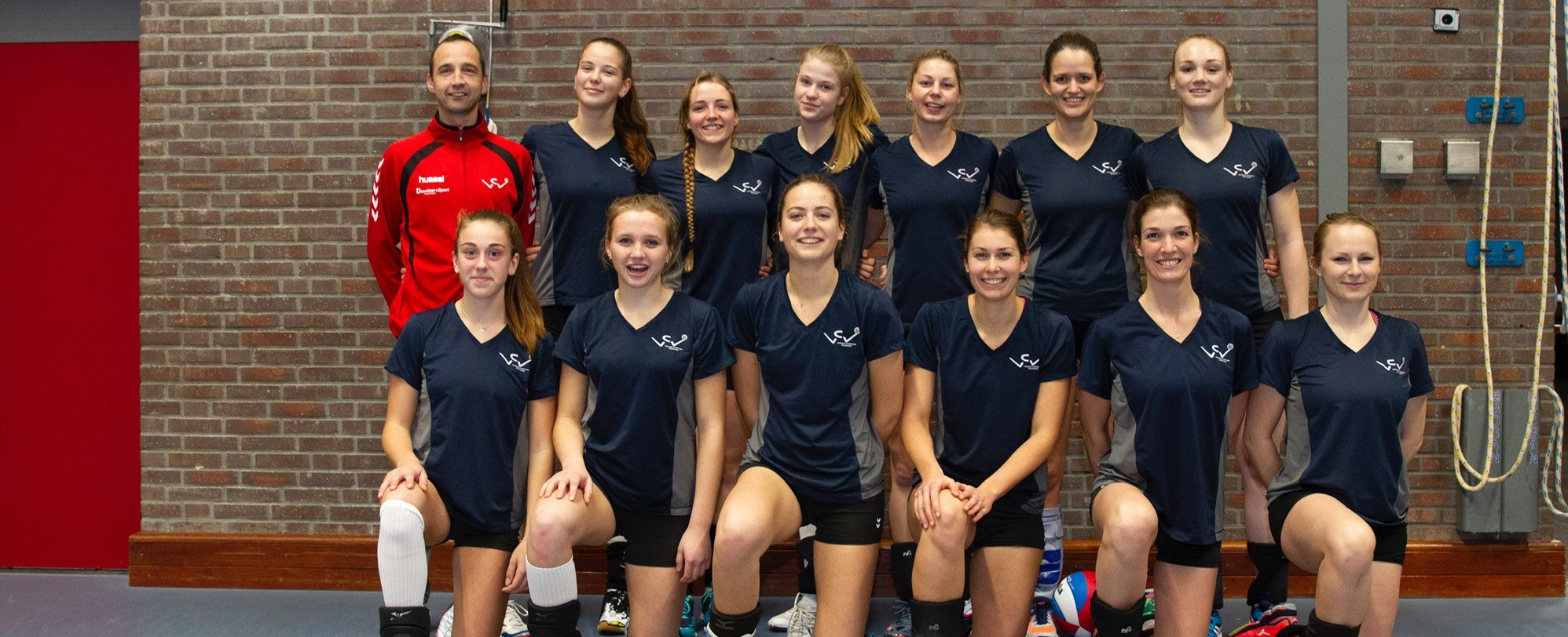 Teamfoto dames 1